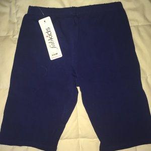 NWT navy Fabkids shorts